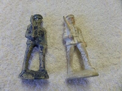 vintage antique primitive wood wooden toy soldier military