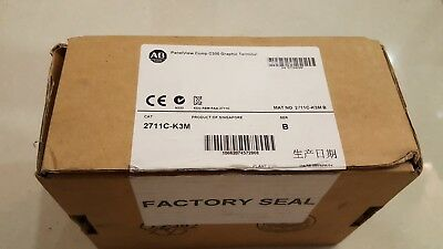 Allen Bradley panelview 2711C-K3M **NEW IN OPEN BOX** Mfg 2013