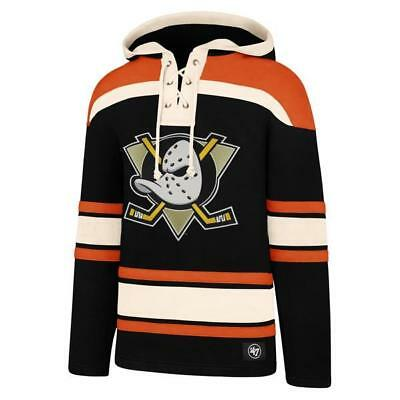 Anaheim Mighty Ducks Lacer Hockey Hoodie - Official 47 Brand Superior Hooded ...