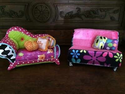 Groovy Girl doll couches