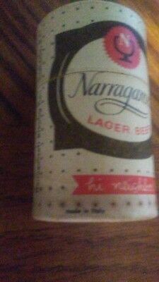 Vintage Narragansett Mini Beer Can Matches stick matches , flip top