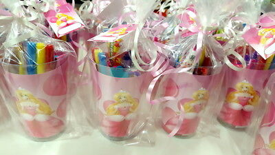 Pre Filled Princess Party Cup - Parties Gift Activity Girls Bags Girls Box