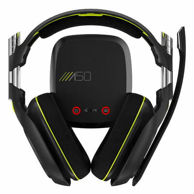 Astro Gaming A50 GEN 2 Wireless Gaming Headset With Base Stand Xbox/PC/PS4 Black