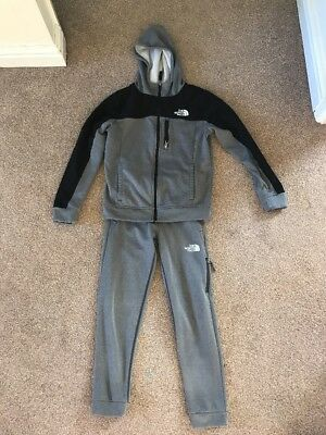 Boys North Face Tracksuit Size Medium (10-11 Years)