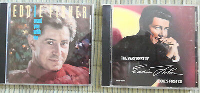 "Lot of Two (2) Eddie Fisher Used CD ""I Want You With Me"" & The Very Best Of Eddi"