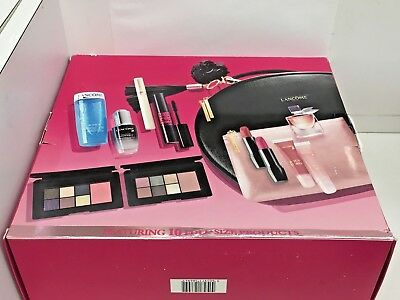 564193818d2 Lancome Holiday Case Edition 2018 Makeup Beauty Box Glow- 10 Full Size  Products