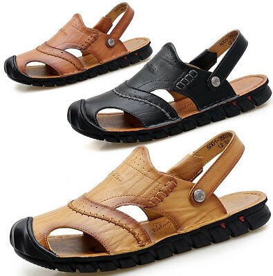 New Mens Summer Walking Hiking Beach Mules Sandals Trekking Trail Sandals Shoes