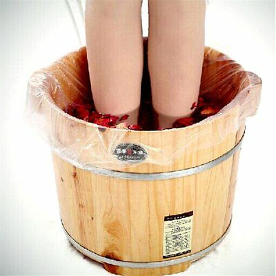 Peize HOT!!! 60Ps Disposable Foot Tub Liners Bath Basin Bags for Foot Pedicure