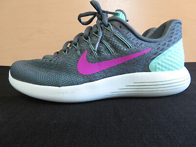 f8889405a332 WOMENS LUNARGLIDE 8 843726-301 Green Glow Fire Pink Mesh Running Shoes sz 7  -  29.99