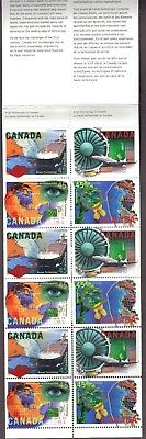 CANADA 1996 HIGH TECHNOLOGY IN CANADA BK 191 #s 1595-1598  LISTED AT  65% OF FV