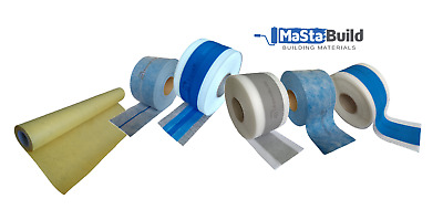 Aqua Build Wet Room System Bathroom Shower Waterproof  Sealing / Tanking Tape