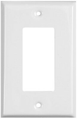 Stanley Hardware Home Designs 4-Pack White Coated Wall Plate - Lot of 5