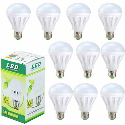 3-20 Pack LED Light Bulbs 100 Watt Equivalent E26 2200Lm 12W Daylight 6500K