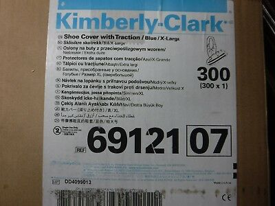 Kimberly Clark Shoe Cover, WITH Traction, Universal 300/CS (NEW) 6912107