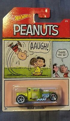 a0ec906484 2017 Hot Wheels Peanuts Diecast Cars Collection Scale 1 64 Set 6