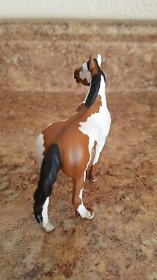 Custom bay paint G3 standing stock horse breyer stablemate
