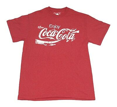 Coke Coca-Cola Sand Logo Vintage Drink Men's T Shirt