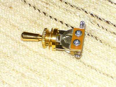 Toggle Switch Pickup Schalter Gibson-Style goldfarbig gebr.