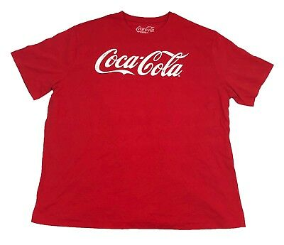 Coke Coca-Cola Classic Original Logo Vintage Drink Men's T Shirt