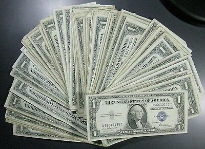 1935 - 1957 Silver Certificate LOWEST PRICE ON EBAY * SHIPS FREE!