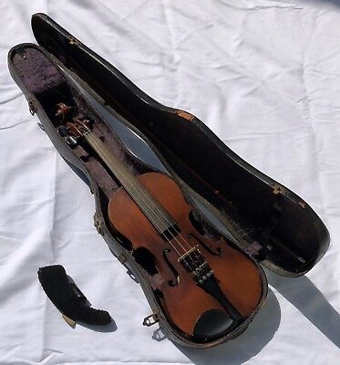 Antique Violin with New Century M & W Co. Case