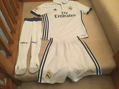 Real Madrid Kids home Football Kit 2017