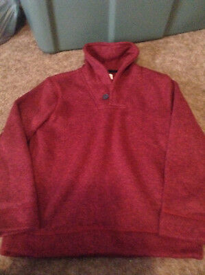 Old Navy  Boys Medium Size 8 Red Pull Over Sweater