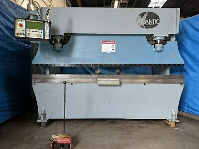135 Ton x 10' Atlantic CNC 3 Axis Hydraulic Press Brake  Metal Bender