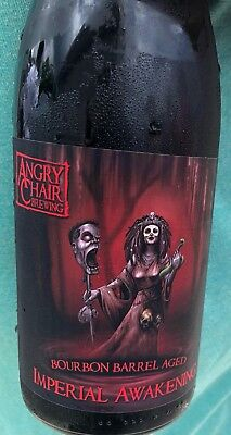 Angry Chair Bourbon Barrel Aged Awakening Imperial Stout RARE Bottle
