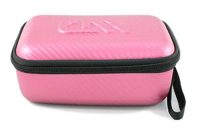 Pink Shaver Case fits Panasonic Trimmers , Trimmers and Epilators under 6 Inches