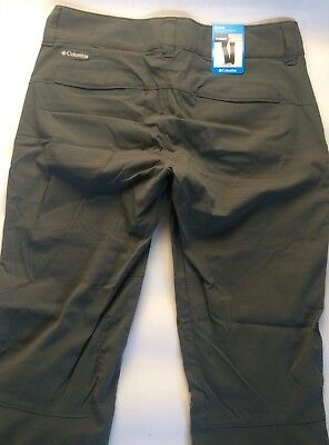 *NEW* Columbia Women's Omni-Shield Active Pants Gray Sz 4 Regular