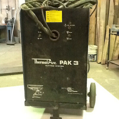 Plazma Cutter, Thermal Arc Pak 3, Cutting system, Used