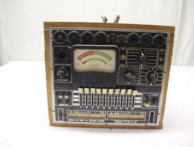 Vintage Precision Apparatus Series 612 Tube And Battery Tester