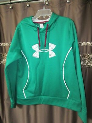 Green Under Armour Hooded Sweatshirt  NWOT  Size XL