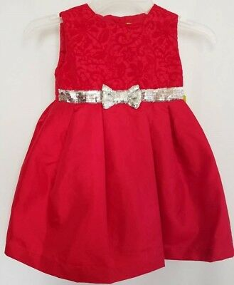 7018db7a4 Penelope Mack Girls Toddler Dress Formal Holiday Party Red Size 2T 4T NWT