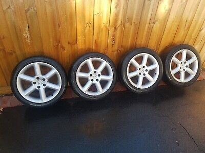 350z track wheels and tyres  18x8