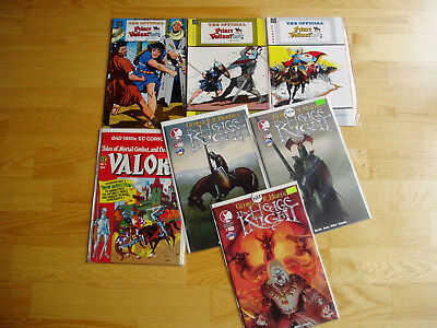 Big Comic Lot Hedge Knight Valor Prince Valiant Hal Foster Wally Wood Medieval