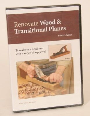 VIDEO: RENOVATE WOOD & TRANSITIONAL PLANES Easy Step By Step FREE SHIPPING