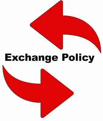 Replacement/ Exchanges/ Postage fees for customers purchased in this store.