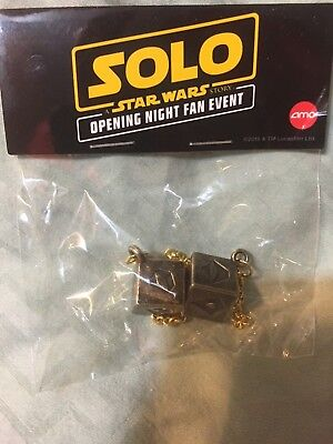 SOLO: A STAR WARS STORY (AMC IMAX Exclusive) Gold DICE (Cool from 1st Screening)