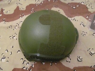 Cpg High Cut Iiia Nij Ballistic Helmet  L/xl Od Green, Special Forces, Seals