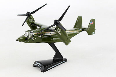 Daron POSTAGE STAMP Marine One USMC MV-22B Osprey 1/150 HMX-1 PS5378-2. New