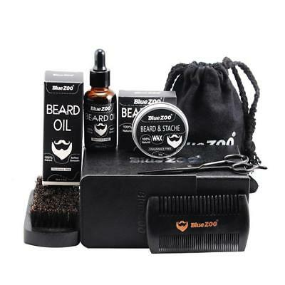 Beard Care Kit / Balm Oil Balm & Beard Comb & Beard Brush & Beard Wax &Beard Bag