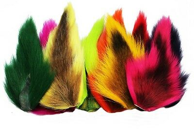 1pcs 10 colors Large Northen Bucktails Long Strand Dyed Hair Fly Tying Materials