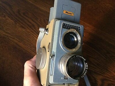 Minty RICOH RICOHMATIC 44 Vintage Camera in original old box c1956 - Japan