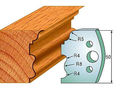 CMT 690.515 Profiled Knives for Shaper Cutters, 1-31/32-Inch Cutting Length 2Pcs