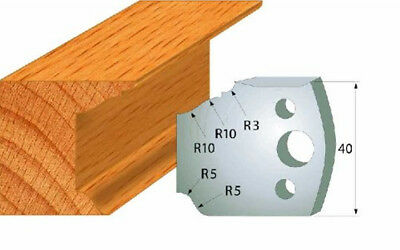 CMT 690.079 Profiled Knives for Shaper Cutters, 1-37/64-Inch Cutting Length 2Pcs