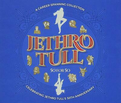 Jethro Tull 50 For 50 (50th Anniversary Collection) 3 CD NEW sealed