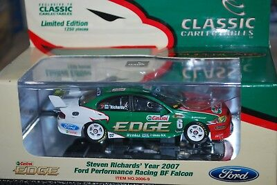 1:43 Classic Carlectables Steve Richard Year 2007 BF Falcon Ford Performance V8