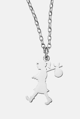 Karen Walker Sterling Silver Run Away Necklace